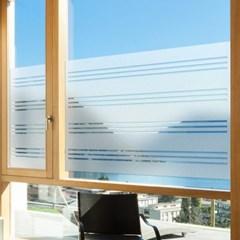 창문 유리창 컷팅안개시트지 크로스스트라이프04_(743752)