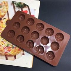 베이킹 15구양갱 초콜릿몰드1개