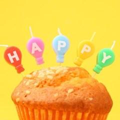 큐티 풍선 생일초