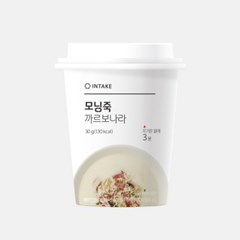 고소한 까르보나라 인테이크 모닝죽(컵형 7개)