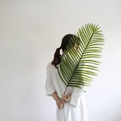 그린 대형 야자잎 조화
