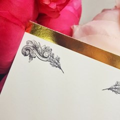 [에코드소울] Golden Orchid Card Pad