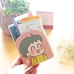 낢 투명 여권커버 2종