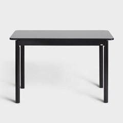 아크 다이닝 테이블 1200 블랙