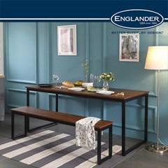 [잉글랜더]대니 멀바우 1200 카페 테이블 식탁(벤치의자1)