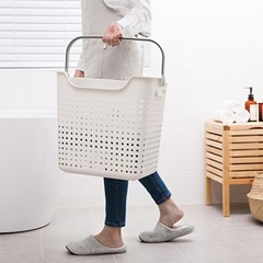 북유럽 감성 디자인 인테리어 세탁물 빨래바구니_(817593)