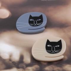 [엔비로라] 아크릴 부로치 - 샤먼 고양이 NBP8027