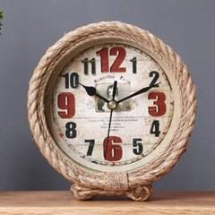 미니멀 빈티지 로프 시계1개