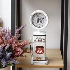 빈티지 라운드주유기 시계(2type)_(1240274)