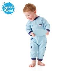 체온보호 아기수영복 웜인원(빈티지모비)