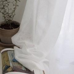 모자이크 커튼-white