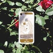 타로카드 골드&실버 글리터 핸드폰 케이스