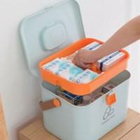 손잡이가 편리한 대용량 구급함상자