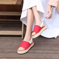 kami et muse Espadrille stitch sandals_KM18s294