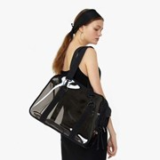 Clear carry bag(Black) - Basic Set