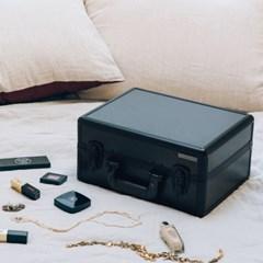 [라쏨] 리퍼브 LED 조명 미니화장대 마이러블리데이 블랙