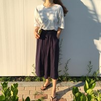 Linen wide pants(린넨 30%)