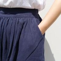Eco linen half pants(린넨 30%)