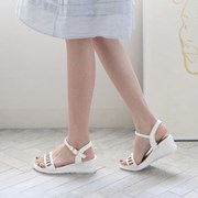 kami et muse  Punching strap middle wedge sandals_KM18s297