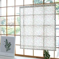 [모모제작소]벚꽃엔딩 북유럽 코튼 가리개커튼 103x125
