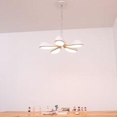 boaz 윈드 팬던트(80W) LED 리모컨포함 인테리어 조명