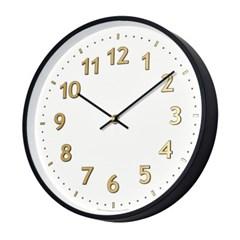 저소음 샤인넘버벽시계(골드)