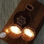 막걸리 스트링아트(우드/LED)