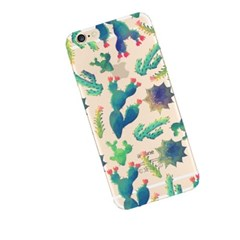 Watercolor Cactus (JF-028A) Jelly Case