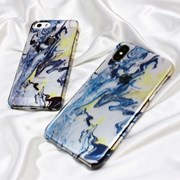 Summer marbling phone case