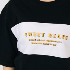 Classic Color Combo T-Shirts_Black