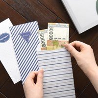 마린 라벨 리틀백 30매 (용돈봉투,현금봉투)