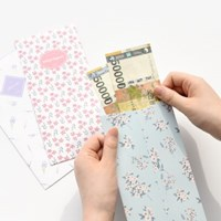 플로럴 리틀백 30매 (용돈봉투,현금봉투)