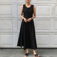햅번 롱 드레스