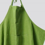 APRON-WASHED LINEN, LIME
