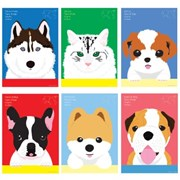 고양이디자인 포스터액자_이그조틱