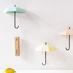 다용도 우산 후크고리 / 소품걸이 6color