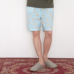 [m] Sunny Egg Shorts Blue (반바지 단품)