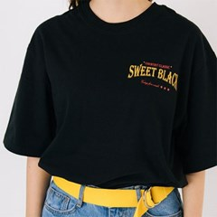 Sweet Black Graphic T-Shirts_Black