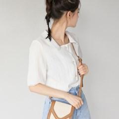 square neck lace detail blouse