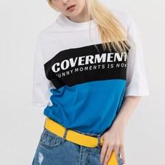 올드스쿨 클래식 티셔츠_블루