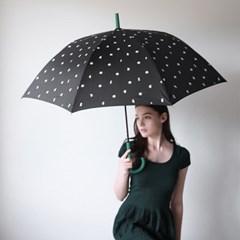 그린 포인트 도트 장우산