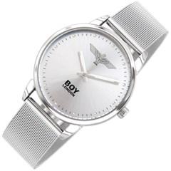 보이런던 메쉬 시계 BLD1309-WH-MS