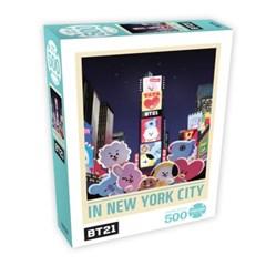 BT21 500피스 직소퍼즐02/인뉴욕시티