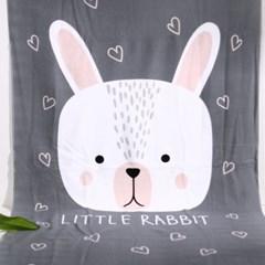 썸머 스위트 토끼 비치 타올