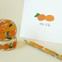 [JEJU] 제주 새콤한 감귤 마스킹테이프