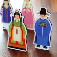 한국 전통복식 자석