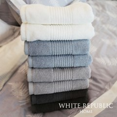 Hotel Cotton Hand Towel Grey Blue_(824963)