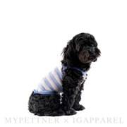 Toy sleeveless / pastel pink&pastel blue