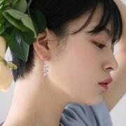 dried rose earrings 小 (2colors)
