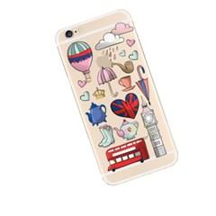 Luci London Pattern (JE-022A) Jelly Case